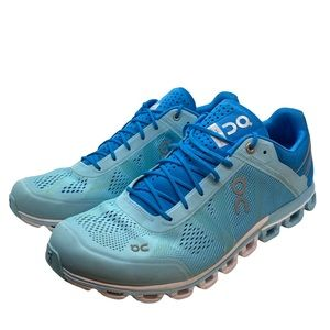On Cloud Blue Aqua Running Athletic Shoes Sneakers Women's Size 11